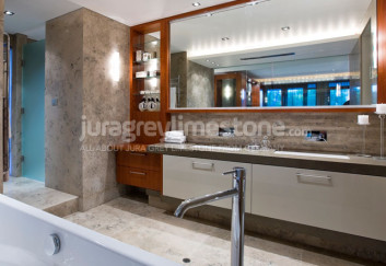 Jura Grey limestone coverings