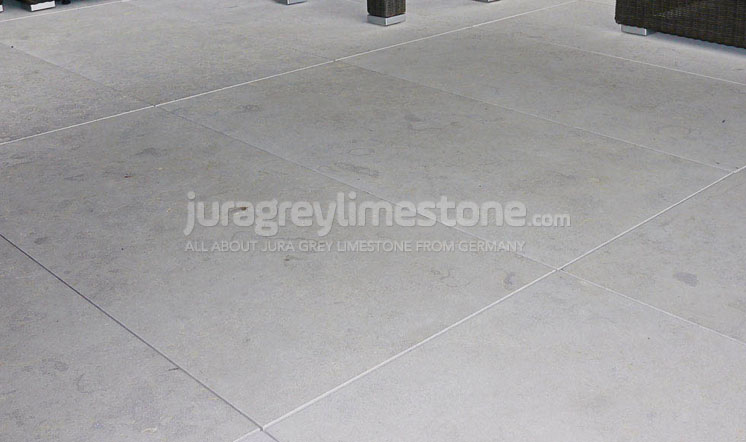 Jura Grey limestone flooring detail