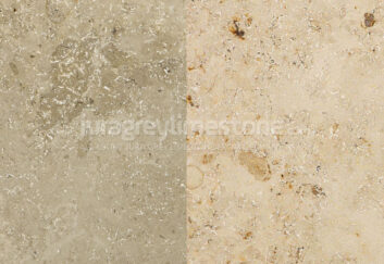 Jura Grey and Jura Beige limestones